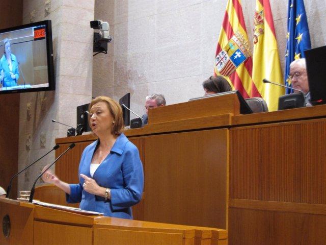 La presidenta del Gobierno de Aragón