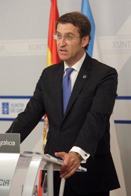 Alberto Núñez Feijóo Comparece En Rueda De Prensa Tras El Consello