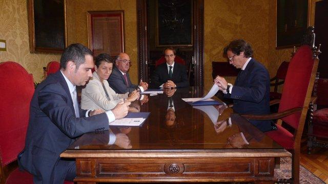 Adhesión de patronos a la Fundación Turismo Palma 365