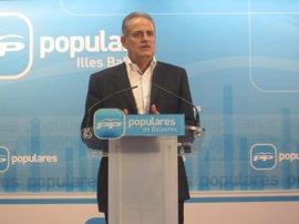 """Ramis critica que el PSOE llegue """"tarde"""" y """"con unas propuestas que ya han sido conseguidas por el Gobierno del PP"""""""