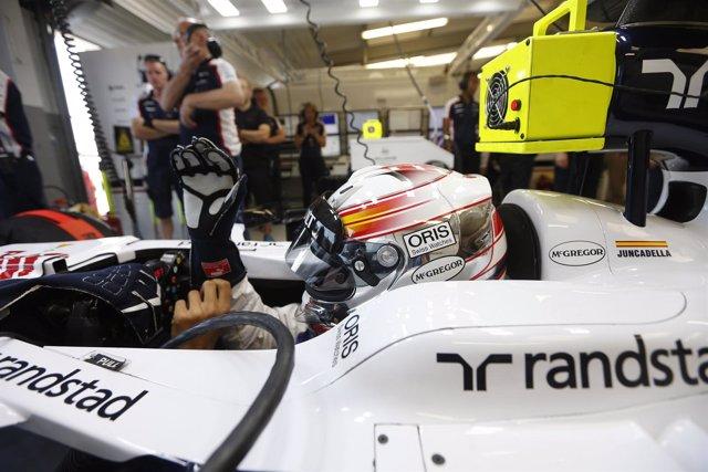 Daniel Juncadella en los test de jóvenes pilotos