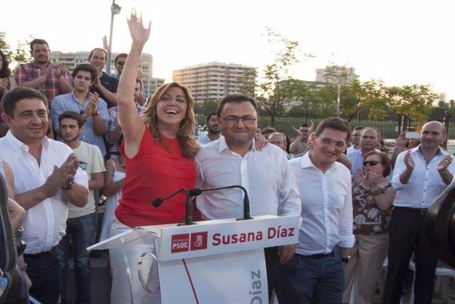 Susana Díaz, nueva candidata a la Junta de Andalucía