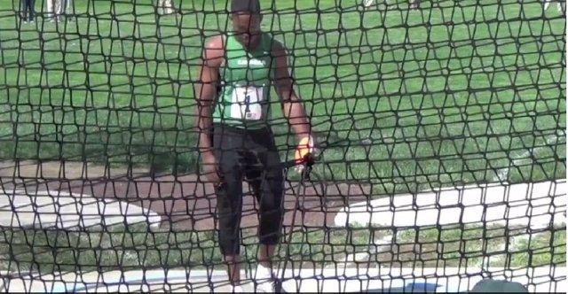 Atleta jamaicano Traves Smikle