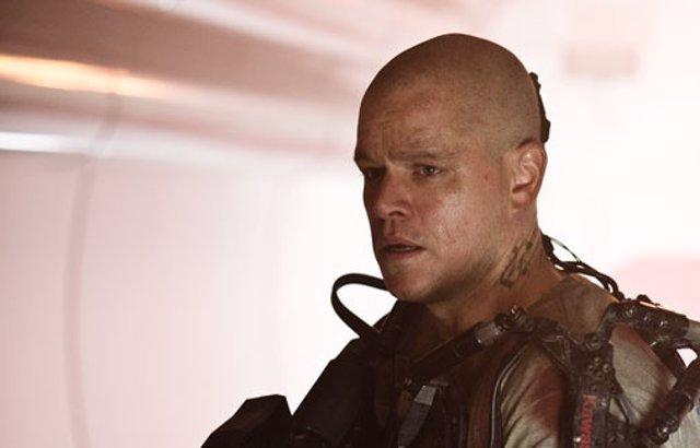 Matt Damon protagoniza los dos nuevos spots de 'Elysium'