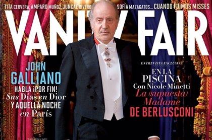 El Rey Don Juan Carlos afronta su mayor momento de soledad en la portada de Vanity Fair