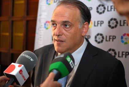 Fútbol.- Javier Tebas viaja a Chile para promocionar la Liga BBVA y la Liga Adelante