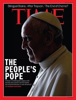 El Papa Francisco en la portada de la revista 'Time'
