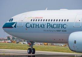 Airbus entrega su A330 número 1.000 a Cathay Pacific, valorado en 186,6 millones de euros
