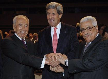 """EEUU.- Kerry confía en que israelíes y palestinos trabajen por la paz de """"buena fe"""""""