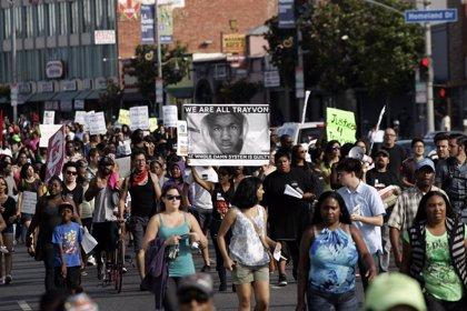 Concentraciones en más de cien ciudades para protestar por la absolución de Zimmerman