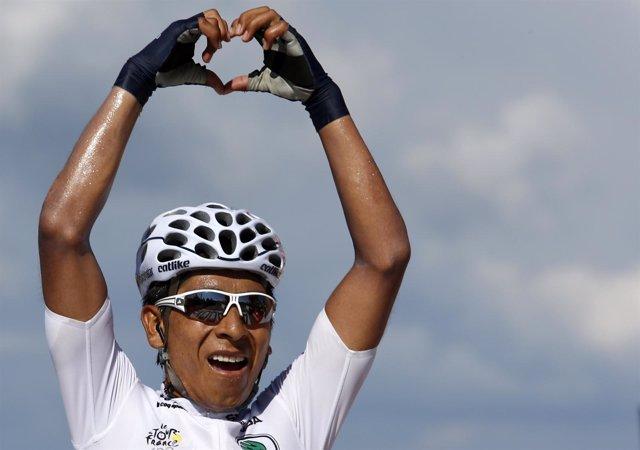Nairo Quinta vence la penúltima etapa del Tour del Centenario
