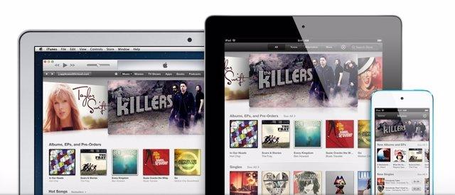 ITunes en iMac, iPad y iPhone