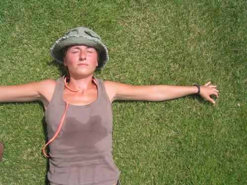 Sudor, calor, verano