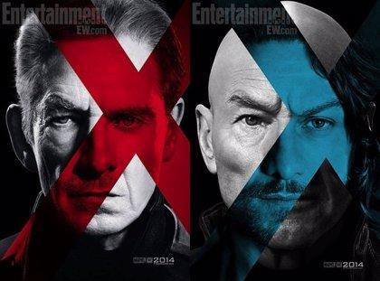 Magneto y el Profesor X en los primeros carteles de 'X-Men: Días del Futuro Pasado'