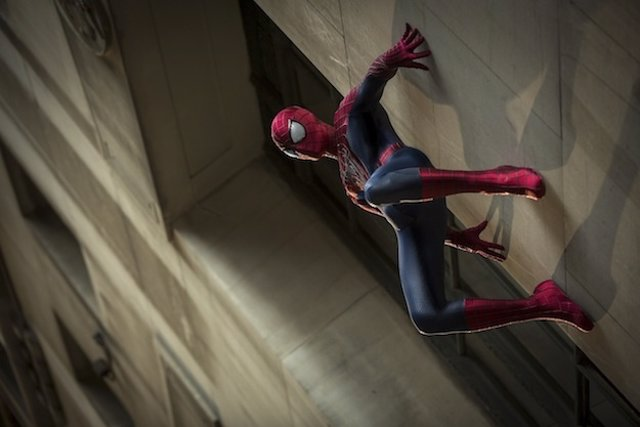 """Andrew Garfield stars as Spider-Man in  Columbia Pictures' """"The Amazing Spider-M"""