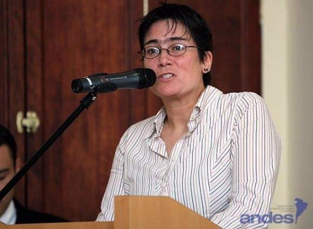Ministra de Salud de Ecuador, Carina Vances