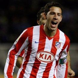 Maxi Rodríguez, jugador del Atlético de Madrid