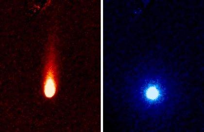 Captan enormes emisiones de dióxido de carbono del cometa ISON