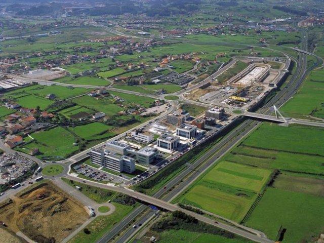 Vista aérea del PCTCAN