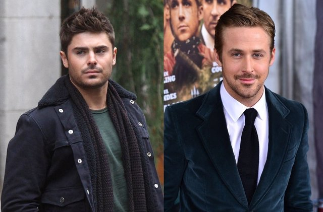 Zac Efron y Ryan Gosling en el Episodio VII de Star Wars