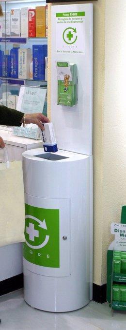 Reciclaje De Medicamentos Y Fármacos En Un Punto SIGRE