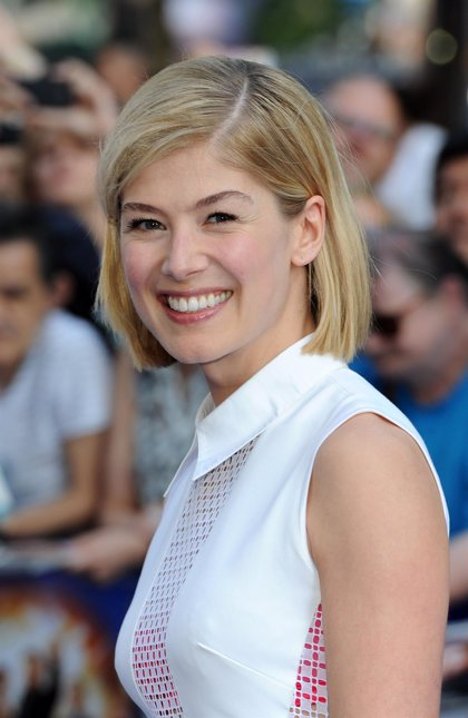 Rosamund Pike protagonizará 'Gone Girl'