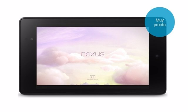 Tableta Nexus 7 de Google y Asus