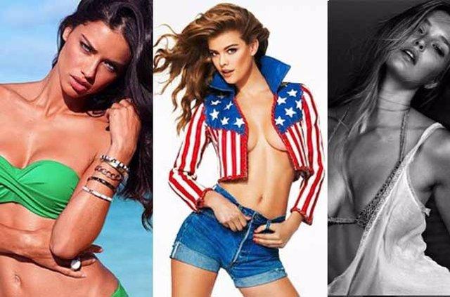 Adriana Lima, Bar Refaeli, Miranda Kerr, entre las 25 modelos mas hot  Instagram