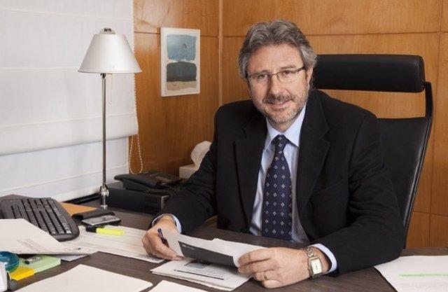 El presidente del Consorci de la Salut i Social de Catalunya (CSC), Manel Ferré