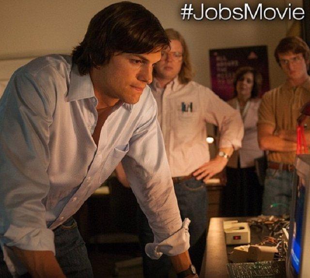 Jobs, fotograma con Ashton Kutcher