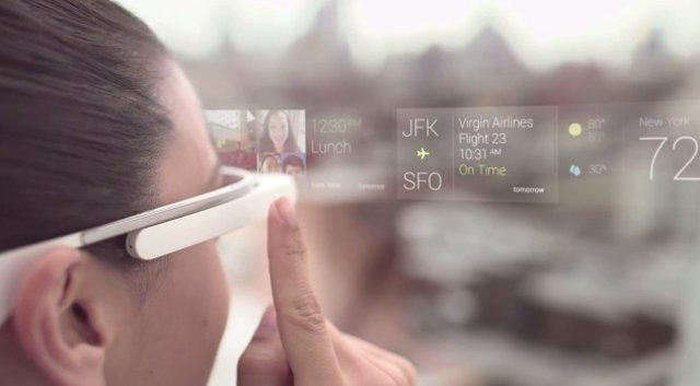 Gafas de realidad aumentada Google Glass