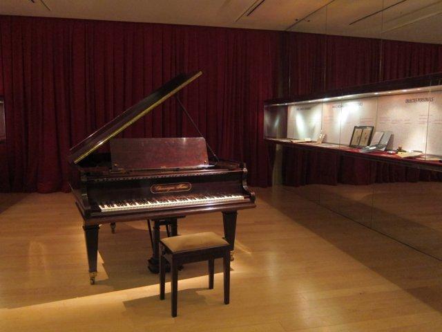 El piano de Frederic Mompou en el Museu de la Música