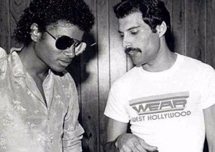 Publicarán una nueva demo de duetos de Freddie Mercury y Michael Jackson