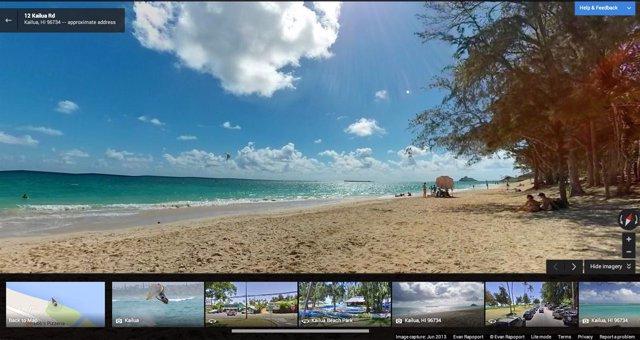 Google View permite subir fotos de 360 grados