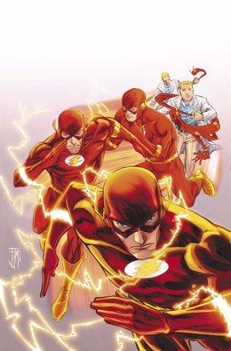 Flash, el superhéroe de DC Cómics tendrá una serie