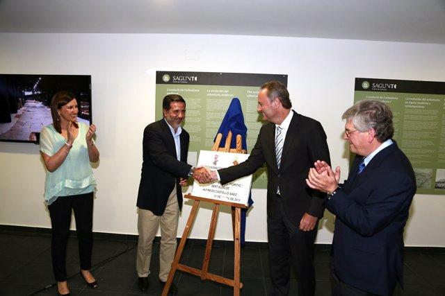 Inauguración del Museo de la Vía del Pórtico de Sagunto (Valencia)