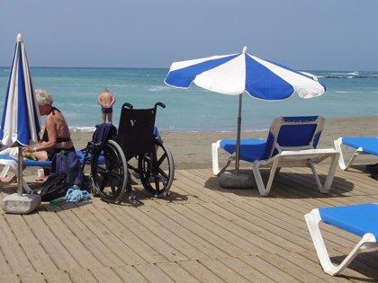 La Palma adapta playas para los discapacitados