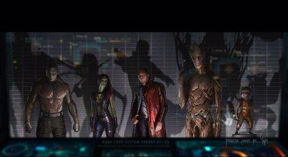 Nueva imagen de 'Guardianes de la Galaxia', la última producción de Marvel