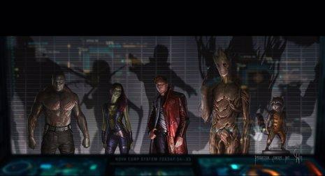 Primera imágen de 'Guardianes de la Galaxia'