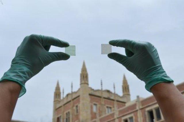 Científicos de UCLA crean un polímero transparente que convierte el vidrio en un panel solar
