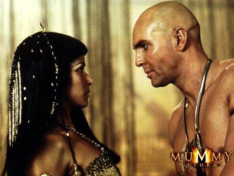 La Momia, fotograma de la película