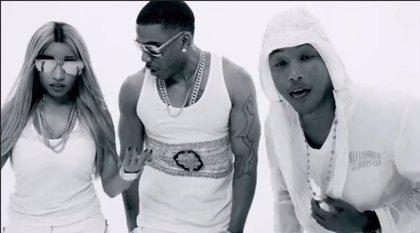 Nelly estrena el videoclip de 'Get like me', con Pharrell y Nicki Minaj
