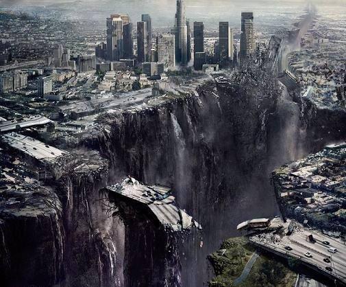 Cintas en las que se destruye el mundo 2012