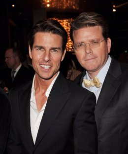 Tom Cruise y Christopher McQuarrie