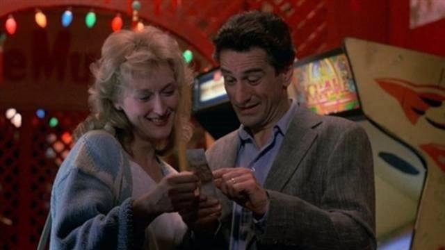Robert de Niro y Meryl Streep en 'Falling in love'