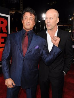 Bruce Willis y Sylvester Stallone