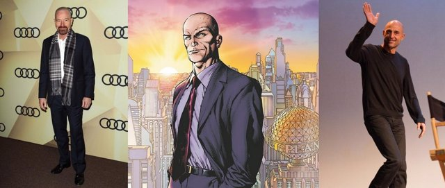 Mark Strong y Bryan Cranston podrían interpretar a Lex Luthor
