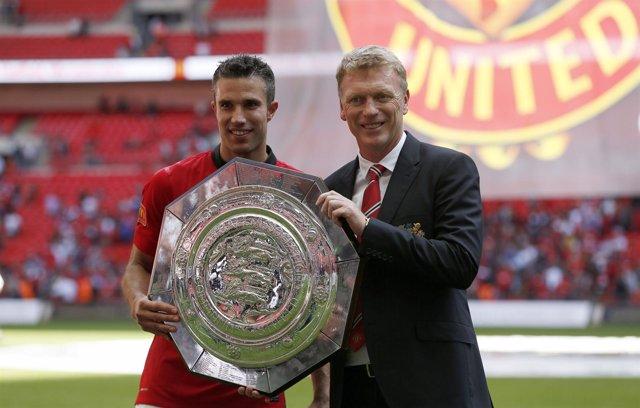 Manchester United David Moyes Robin van Persie