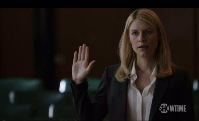 Claire Danes en el tráiler oficial de la tercera temporada de Homeland