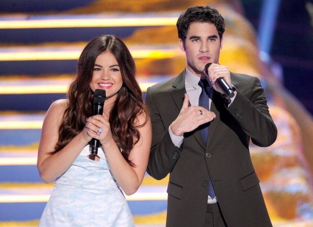 Teen Choice 2013 Lucy Hale and Darren Criss